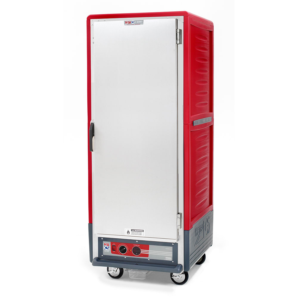 Metro C539-HFS-U Full Height Insulated Mobile Heated Cabinet w/ (18) Pan Capacity, 120v