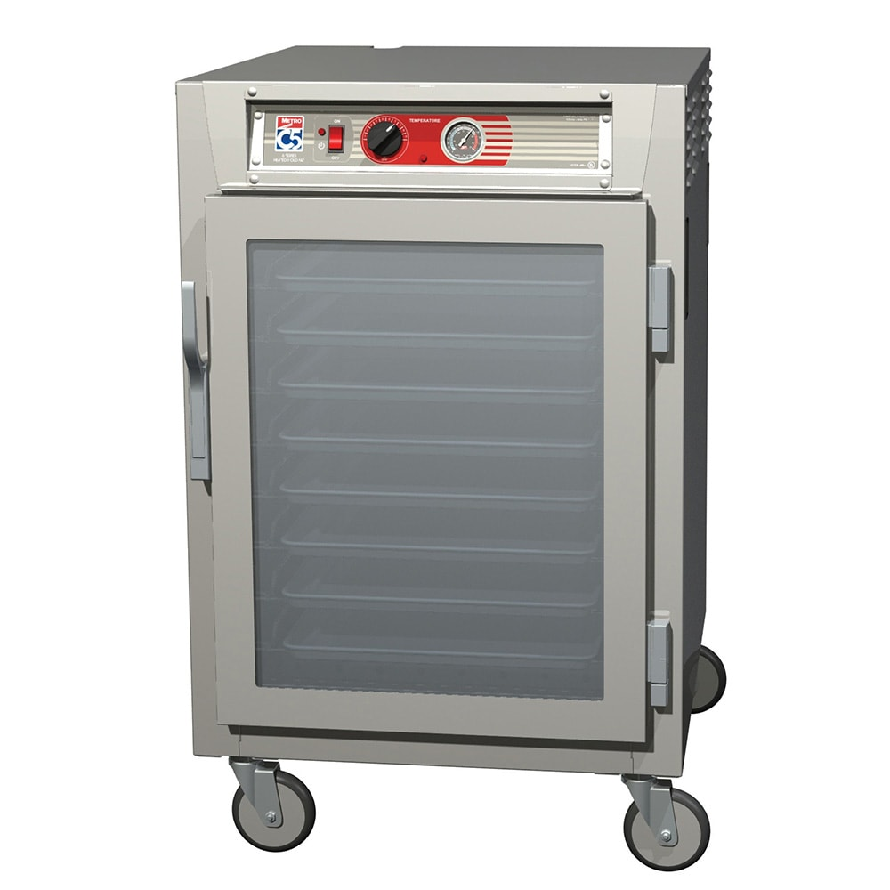 Metro C565-NFC-LPFS 1/2-Height Insulated Mobile Heated Cabinet w/ (17) Pan Capacity, 120v