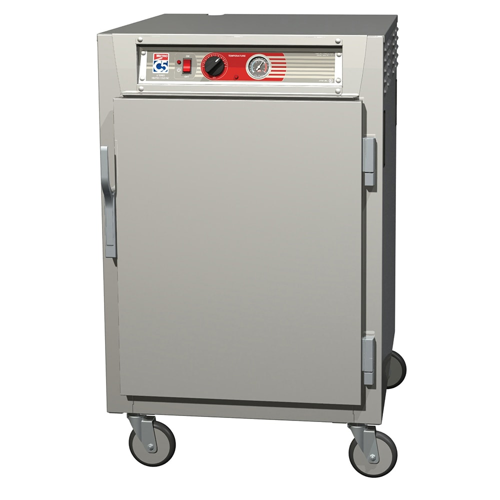 Metro C565-NFS-LPFS 1/2 Height Insulated Mobile Heated Cabinet w/ (17) Pan Capacity, 120v