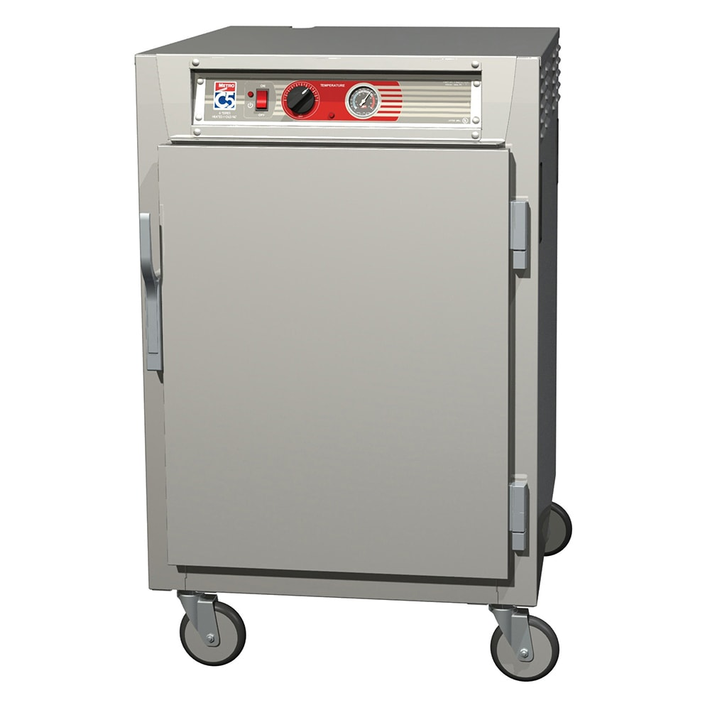 Metro C565-NFS-U 1/2-Height Mobile Heated Cabinet w/ (8) Pan Capacity, 120v