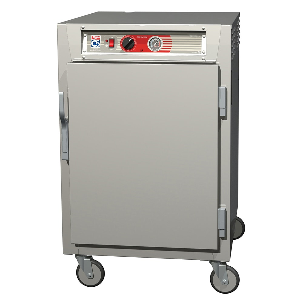 Metro C565-NFS-UPFS 1/2-Height Mobile Heated Cabinet w/ (8) Pan Capacity, 120v