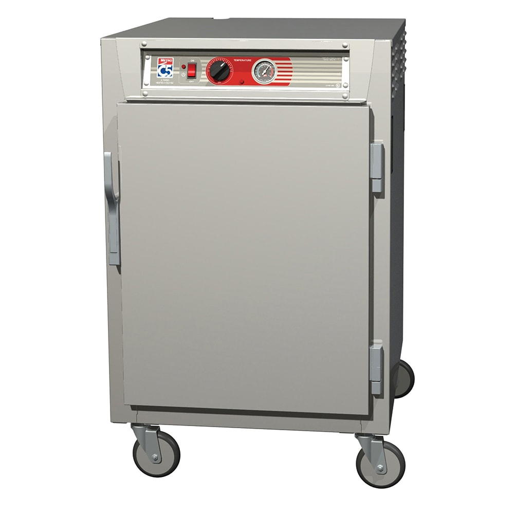 Metro C565-SFS-L 1/2-Height Mobile Heated Cabinet w/ (17) Pan Capacity, 120v