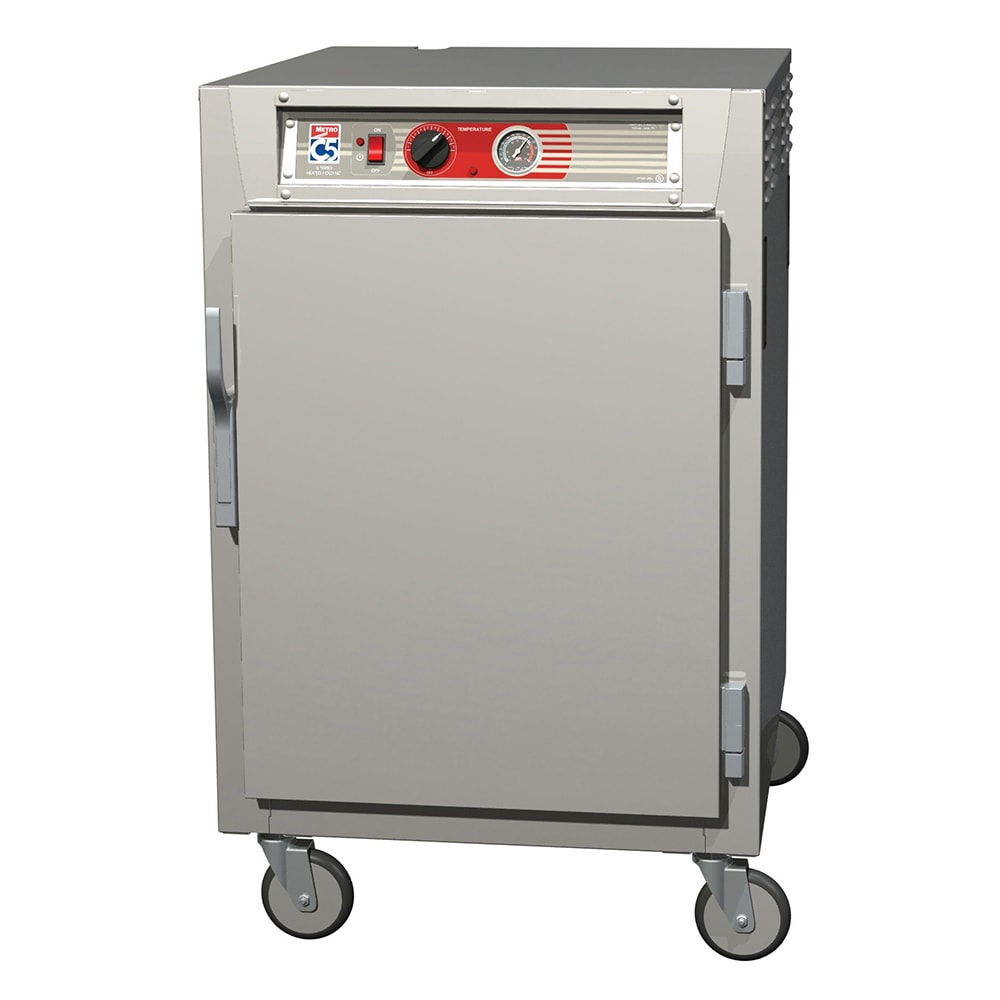 Metro C565-SFS-LPFC 1/2-Height Mobile Heated Cabinet w/ (17) Pan Capacity, 120v