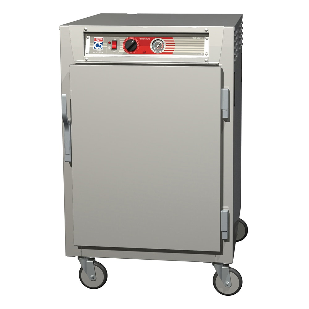 Metro C565-SFS-LPFS 1/2 Height Insulated Mobile Heated Cabinet w/ (17) Pan Capacity, 120v