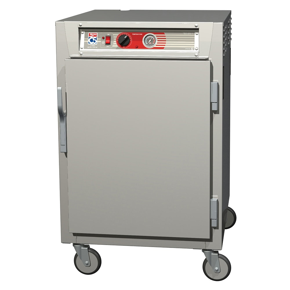 Metro C565-SFS-U 1/2 Height Insulated Mobile Heated Cabinet w/ (8) Pan Capacity, 120v