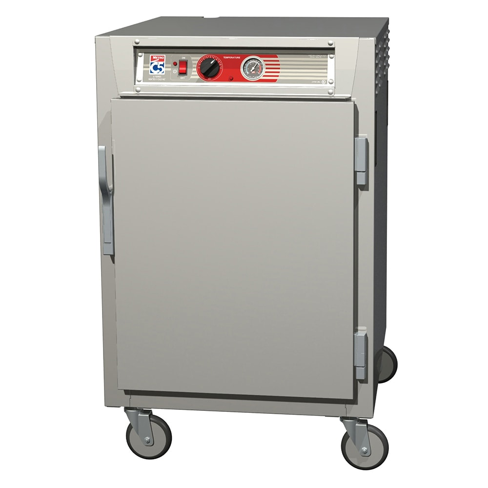 Metro C565-SFS-UPFC 1/2 Height Insulated Mobile Heated Cabinet w/ (8) Pan Capacity, 120v