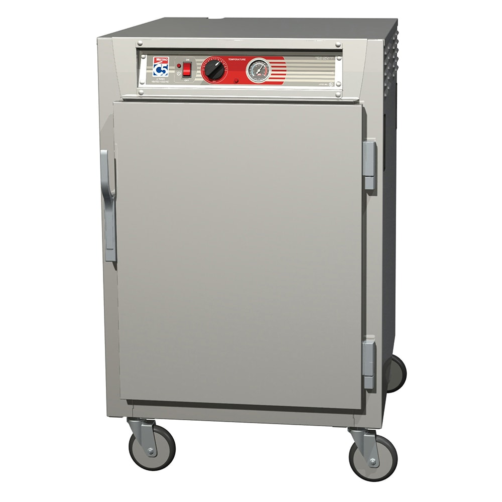 Metro C565-SFS-UPFS 1/2 Height Insulated Mobile Heated Cabinet w/ (8) Pan Capacity, 120v