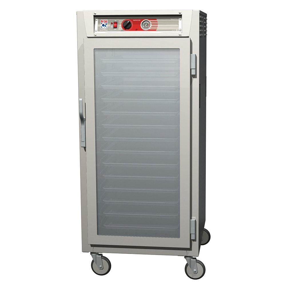 Metro C567-NFC-U 3/4-Height Mobile Heated Cabinet w/ (13) Pan Capacity, 120v