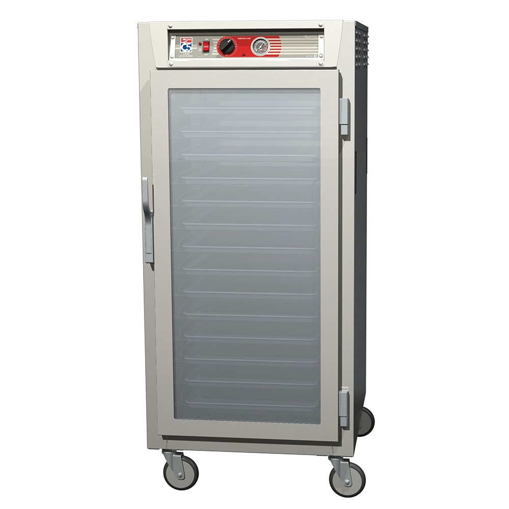 Metro C567-SFC-U 3/4-Height Mobile Heated Cabinet w/ (13) Pan Capacity, 120v