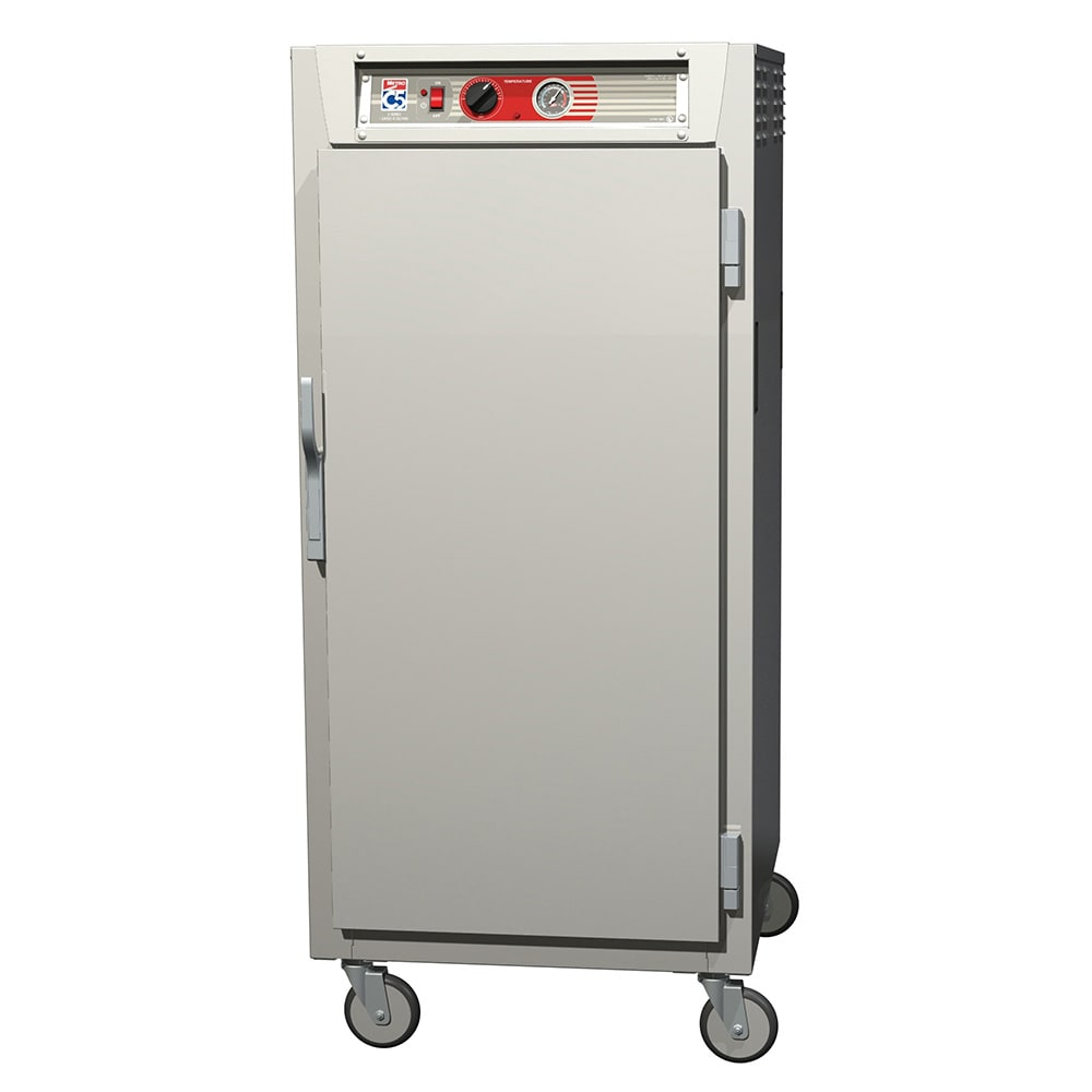 Metro C567-SFS-L 3/4 Height Insulated Mobile Heated Cabinet w/ (27) Pan Capacity, 120v