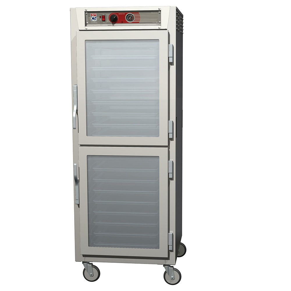 Metro C569L-NDC-LPDC Full-Height Mobile Heated Cabinet w/ (34) Pan Capacity, 120v