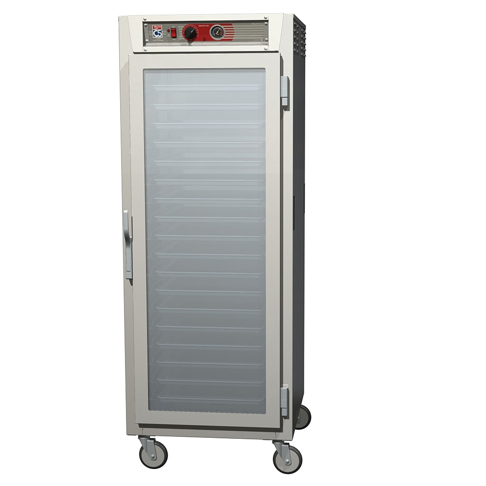 Metro C569L-SFC-U Full-Height Insulated Mobile Heated Cabinet w/ (18) Pan Capacity, 120v
