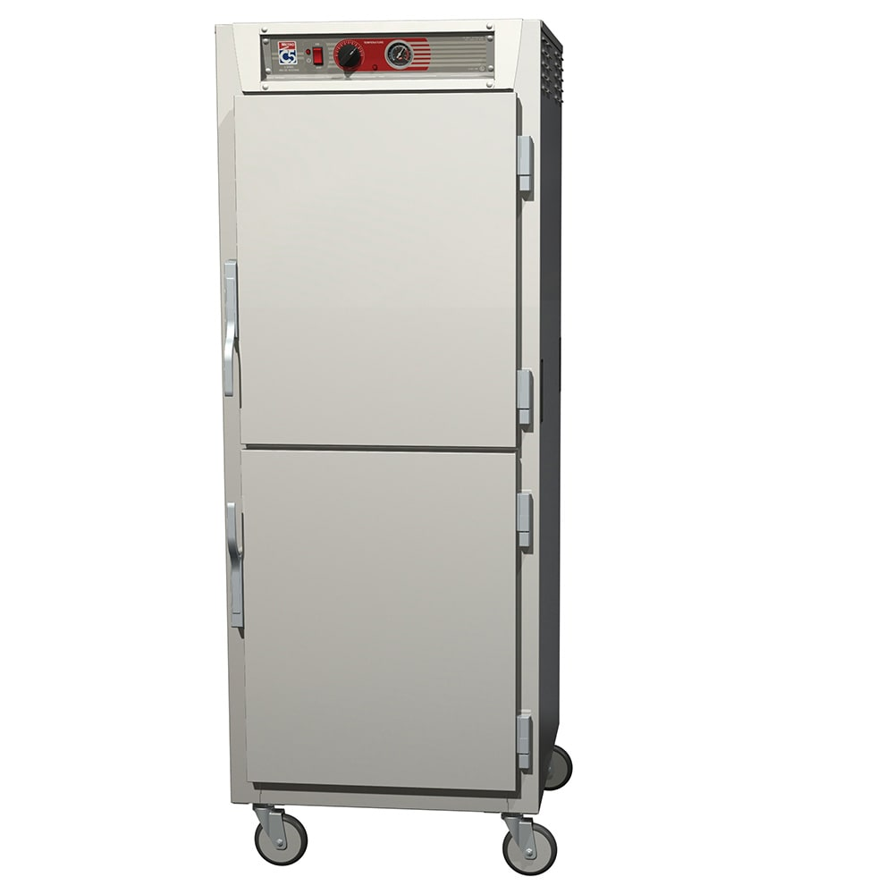 Metro C569-NDS-L Full-Height Mobile Heated Cabinet w/ (34) Pan Capacity, 120v