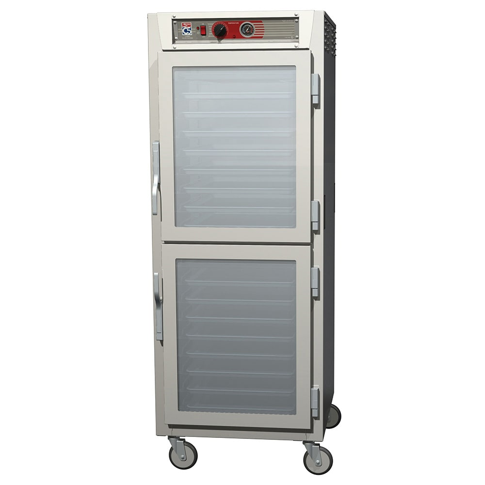 Metro C569-SDC-LPDC Full-Height Mobile Heated Cabinet w/ (34) Pan Capacity, 120v