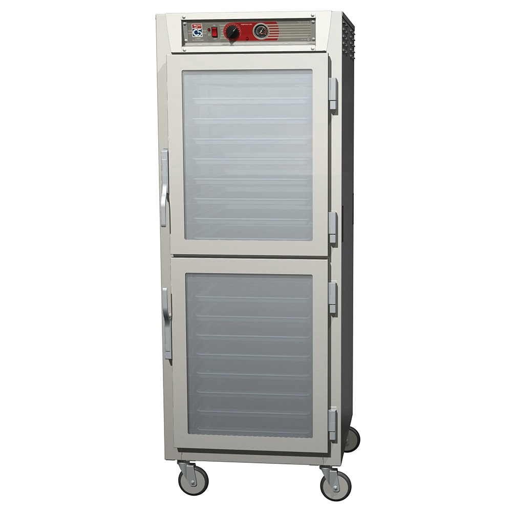 Metro C569-SDC-LPDS Full-Height Mobile Heated Cabinet w/ (34) Pan Capacity, 120v