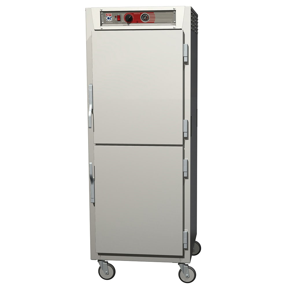 Metro C569-SDS-LPDC Full-Height Insulated Mobile Heated Cabinet w/ (34) Pan Capacity, 120v