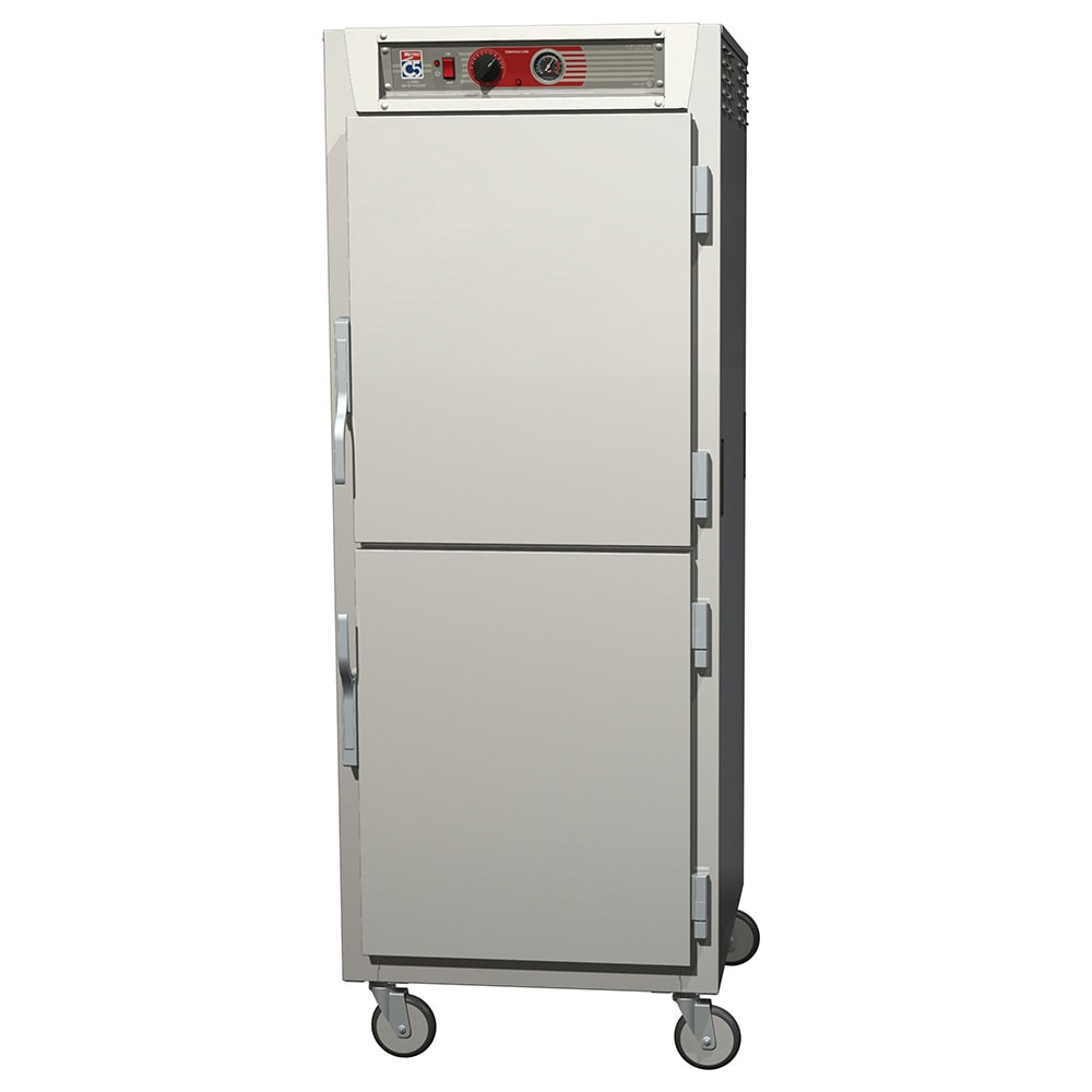 Metro C569-SDS-LPDS Full-Height Insulated Mobile Heated Cabinet w/ (34) Pan Capacity, 120v