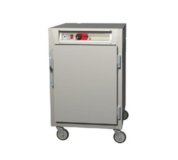 Metro C585-SFS-L 1/2 Height Insulated Mobile Heated Cabinet w/ (17) Pan Capacity, 120v