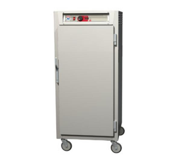 Metro C587-NFS-L 3/4 Height Insulated Mobile Heated Cabinet w/ (27) Pan Capacity, 120v
