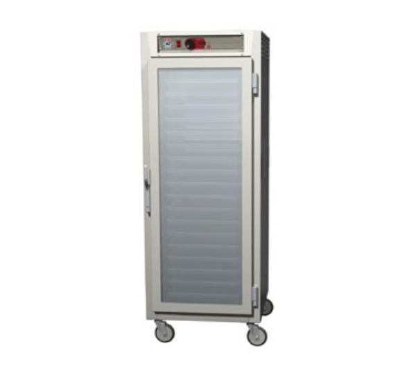 Metro C589-NFC-LPFC Full Height Insulated Mobile Heated Cabinet w/ (35) Pan Capacity, 120v