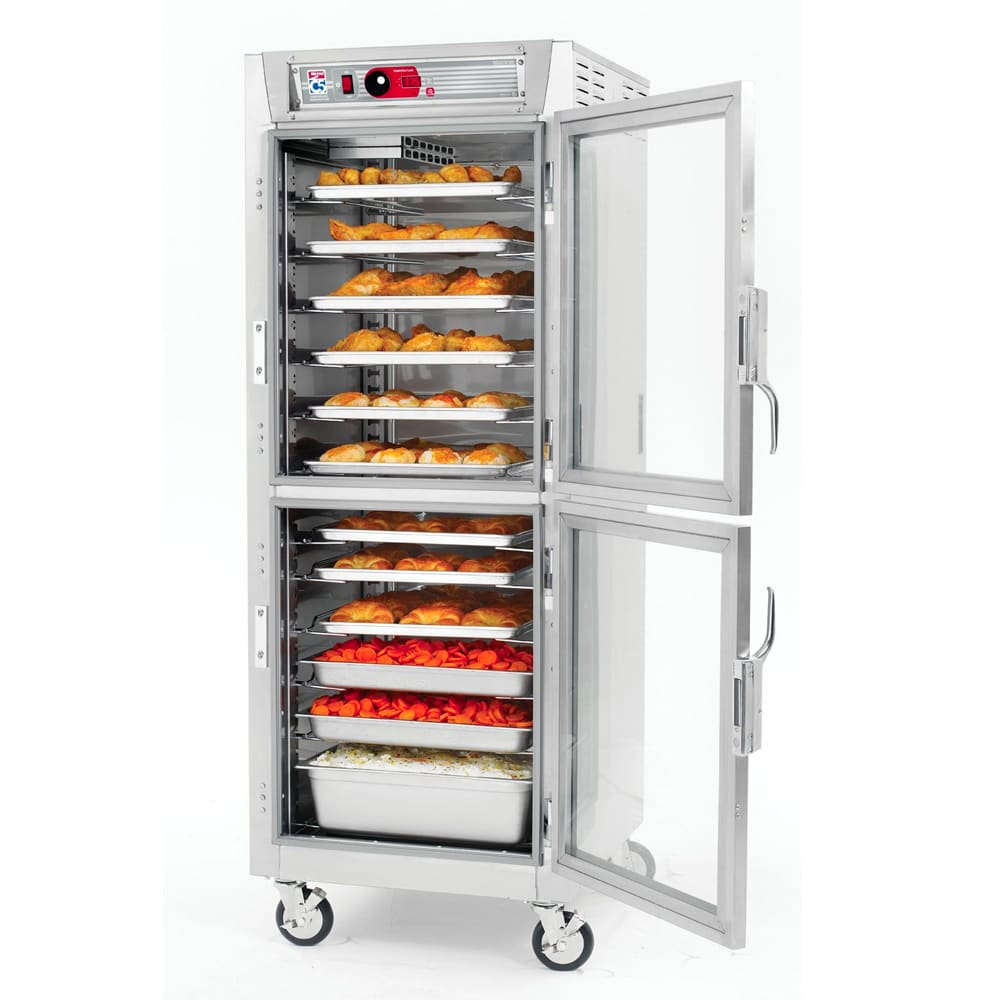 Metro C589-SDC-L Full Height Insulated Mobile Heated Cabinet w/ (34) Pan Capacity, 120v
