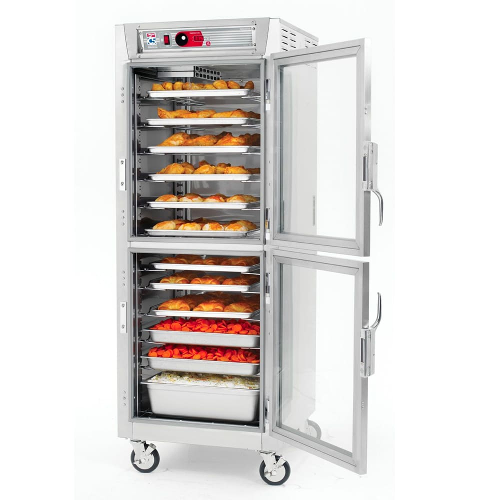 Metro C589-SDC-UPDC Full Height Insulated Mobile Heated Cabinet w/ (17) Pan Capacity, 120v