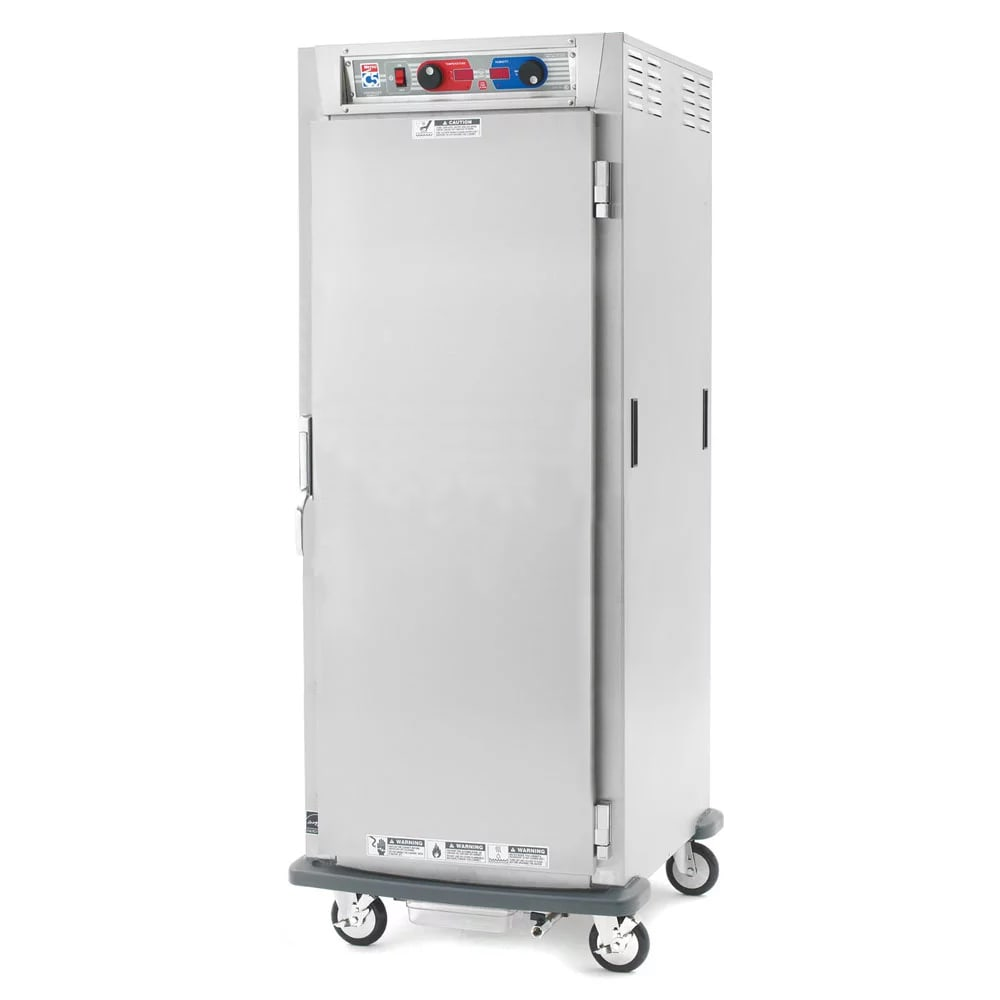 Metro C589-SFS-UPFC Full Height Insulated Mobile Heated Cabinet w/ (18) Pan Capacity, 120v