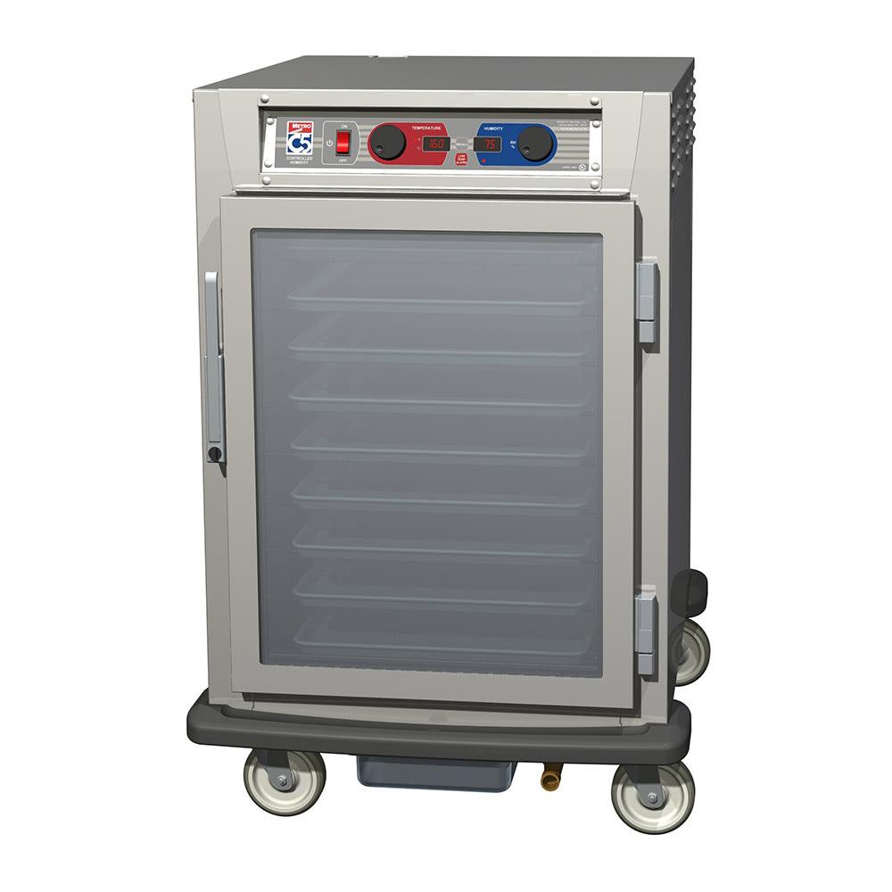Metro C595-NFC-UPFC 1/2-Height Mobile Heated Cabinet w/ (8) Pan Capacity, 120v