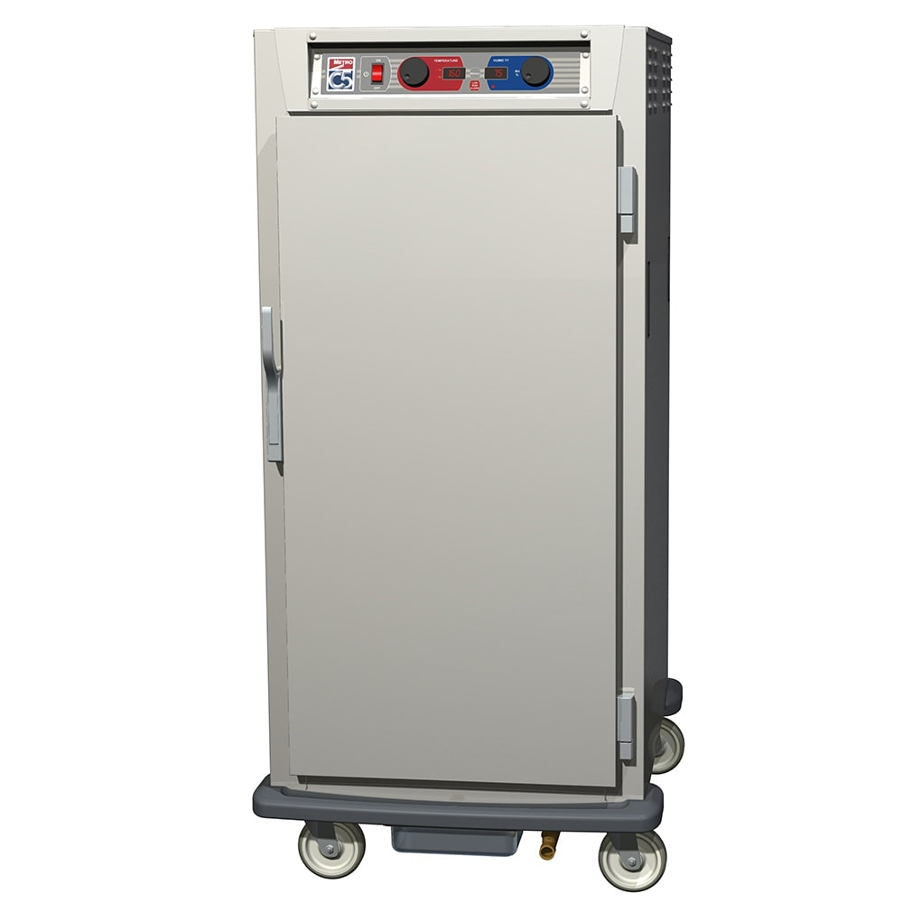 Metro C597-NFS-L 3/4 Height Insulated Mobile Heated Cabinet w/ (27) Pan Capacity, 120v