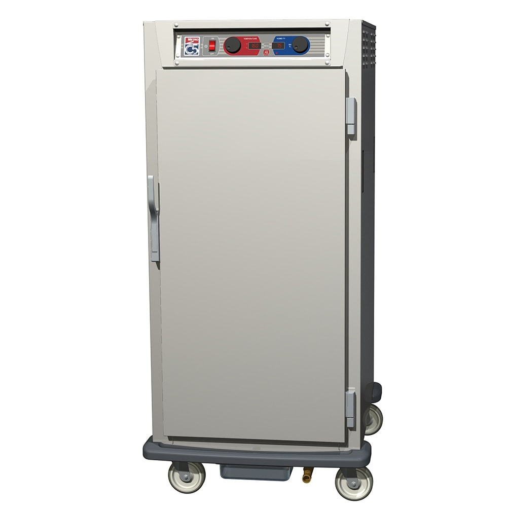 Metro C597-SFS-L 3/4-Height Mobile Heated Cabinet w/ (27) Pan Capacity, 120v