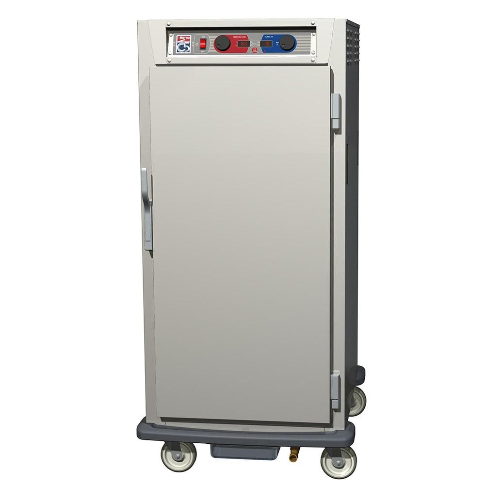 Metro C597-SFS-U 3/4 Height Insulated Mobile Heated Cabinet w/ (13) Pan Capacity, 120v