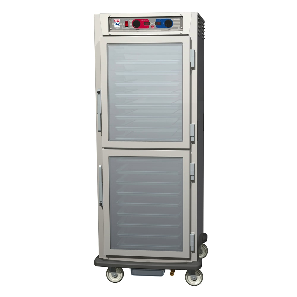 Metro C599-NDC-U Full Height Insulated Mobile Heated Cabinet w/ (17) Pan Capacity, 120v