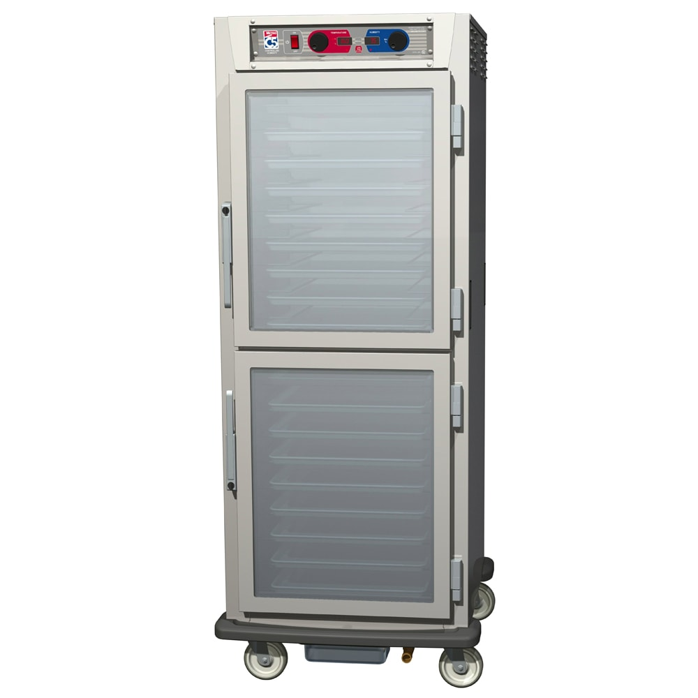 Metro C599-NDC-UPDC Full Height Insulated Mobile Heated Cabinet w/ (17) Pan Capacity, 120v