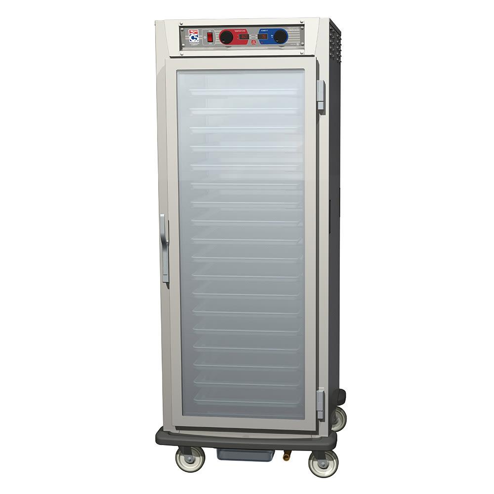Metro C599-NFC-LPFC Full Height Mobile Heated Cabinet w/ (35) Pan Capacity, 120v