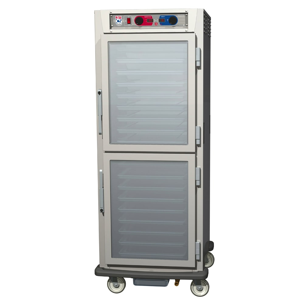 Metro C599-SDC-UPDS Full Height Insulated Mobile Heated Cabinet w/ (17) Pan Capacity, 120v