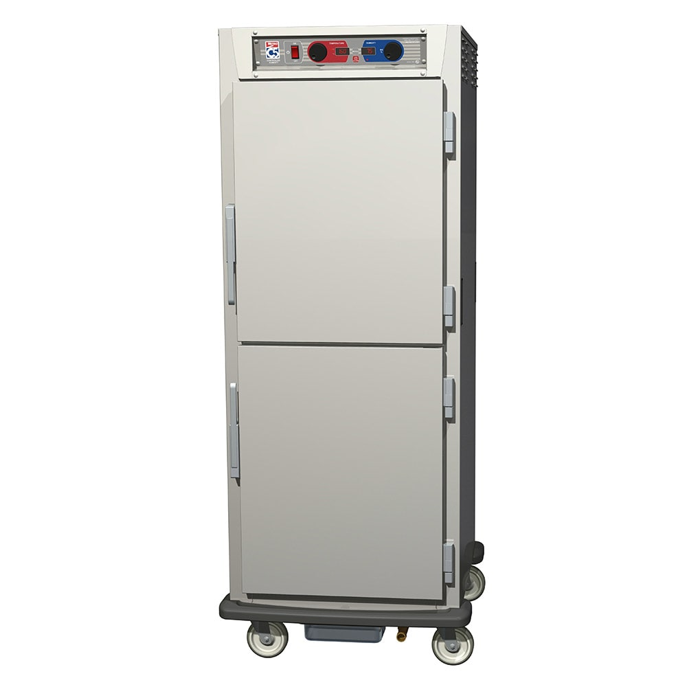 Metro C599-SDS-UPDC Full Height Insulated Mobile Heated Cabinet w/ (17) Pan Capacity, 120v