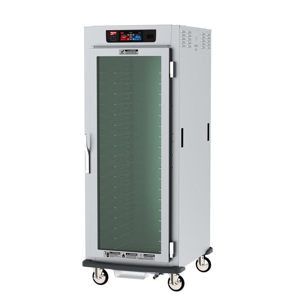 Metro C599-SFC-LPFC Full Height Mobile Heated Cabinet w/ (35) Pan Capacity, 120v