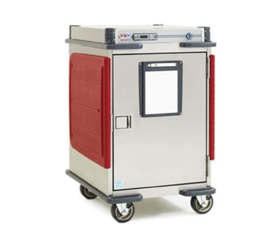 Metro C5T5-DSLA 1/2 Height Insulated Mobile Heated Cabinet w/ (9) Pan Capacity, 120v