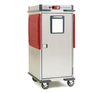 Metro C5T8-ASBA 5/6 Height Insulated Mobile Heated Cabinet w/ (14) Pan Capacity, 120v
