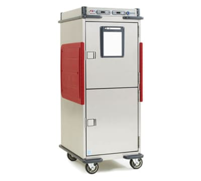 Metro C5T9D-DSBA Full Height Insulated Mobile Heated Cabinet w/ (14) Pan Capacity, 120v