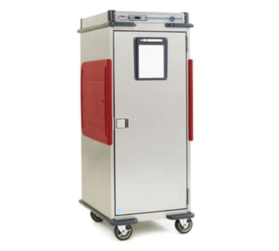 Metro C5T9-DSBA Full Height Insulated Mobile Heated Cabinet w/ (16) Pan Capacity, 120v