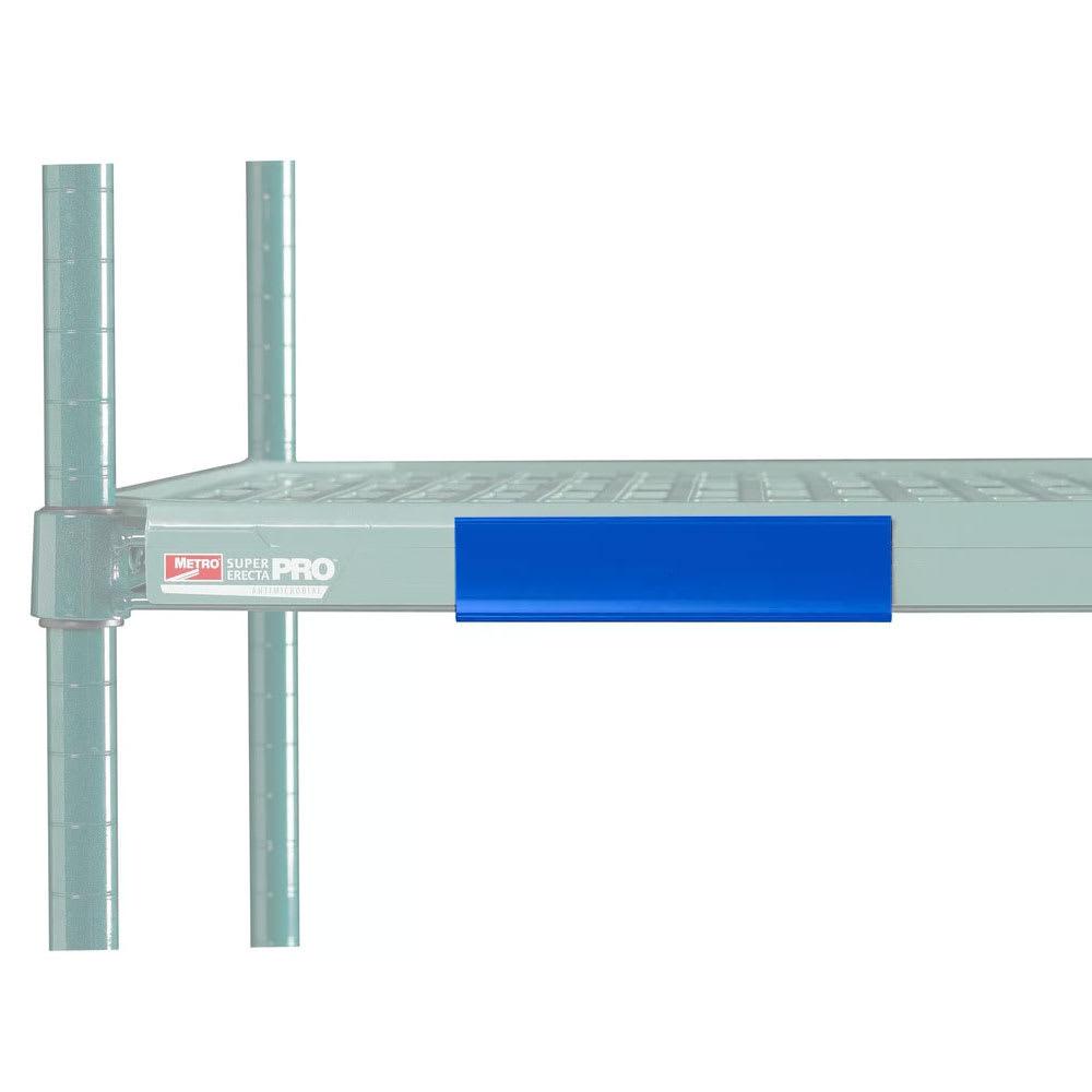 """Metro CSM6-BQ MetroMax Q™ Shelf Marker - 6"""" x 1.5"""", Blue"""