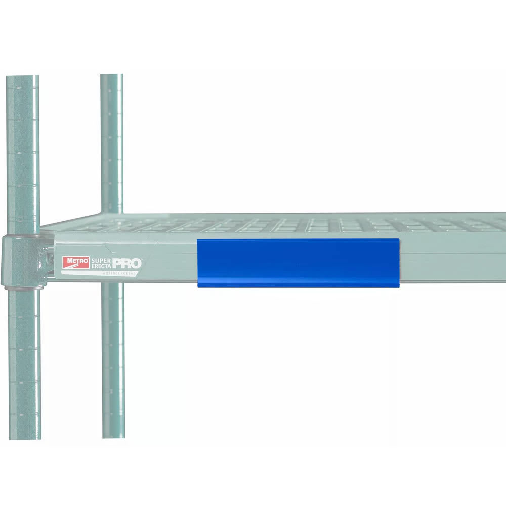 "Metro CSM6-BX MetroMax i® Shelf Marker - 6"" x 1.5"", Blue"