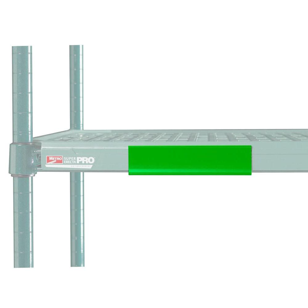 "Metro CSM6-GQ MetroMax Q™ Shelf Marker - 6"" x 1.5"", Green"