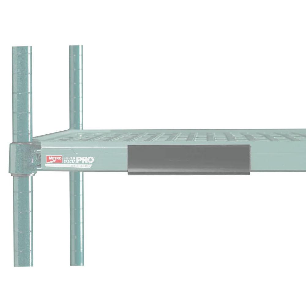 "Metro CSM6-GRQ MetroMax Q™ Shelf Marker - 6"" x 1.5"", Gray"