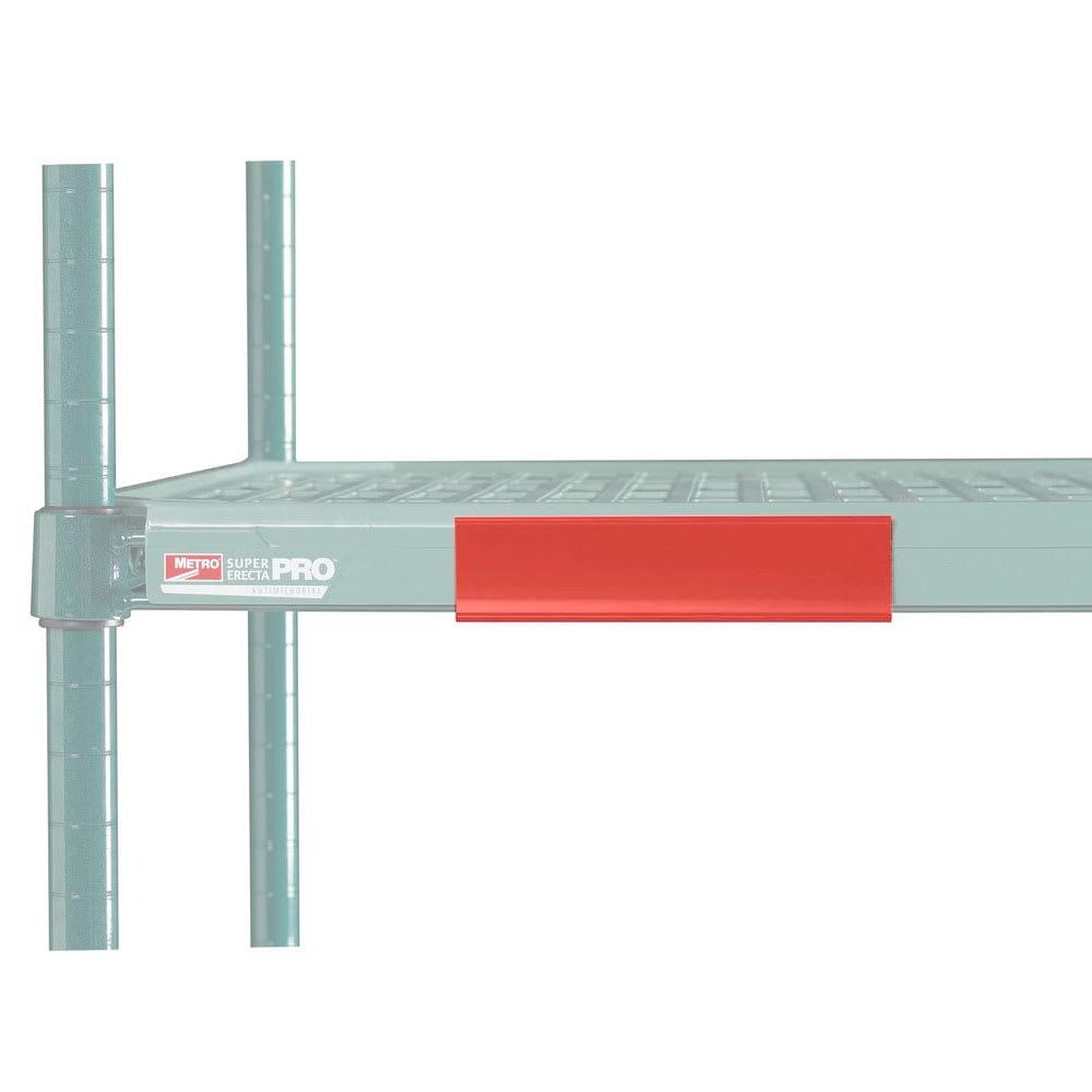 "Metro CSM6-RQ MetroMax Q™ Shelf Marker - 6"" x 1.5"", Red"