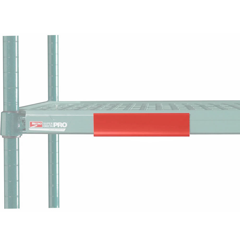 "Metro CSM6-RX MetroMax i® Shelf Marker - 6"" x 1.5"", Red"