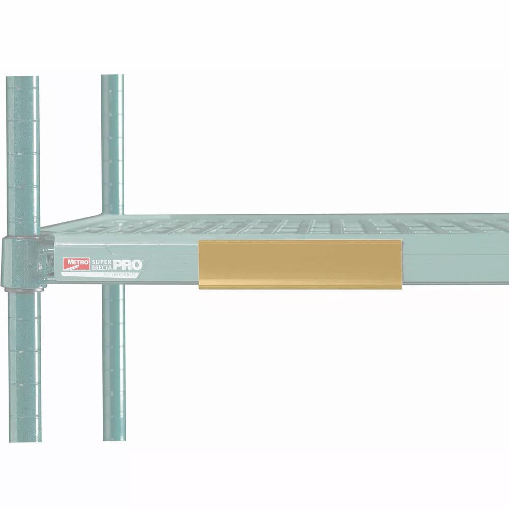 "Metro CSM6-TX MetroMax i® Shelf Marker - 6"" x 1.5"", Tan"
