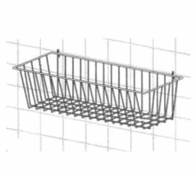 "Metro H212C Smartwall G3 Storage Basket - 17.375"" x 7.5"" x 10"", Chrome"