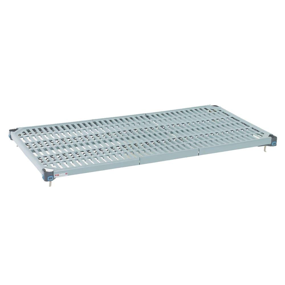 """Metro MQ1842G MetroMax Q™ Polymer Louvered Shelf - 42""""W x 18""""D"""